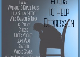 Foods that Help Depression