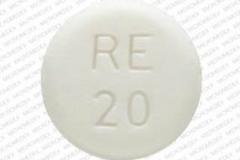 NDC 50742-102-01, Atenolol, 50 mg, side 1 is RE 20,