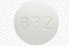 Baclofen_10mg_0832-1024-00, side 2 is 832,