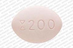 Fluconazole, 200 mg, 0172-5413-16, side 1 is hourglass 200,